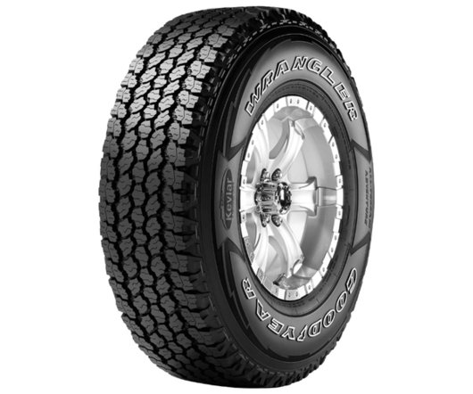 265/75R16 GOODYEAR Wrangler All-Terrain Adventure With Kevlar 112/109Q